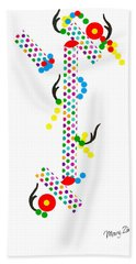 Polka Dot Blast Bath Towel