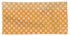 Polka Dots Orange Mug Bath Towel