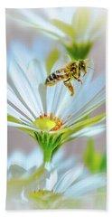 Pollinator Bath Towel by Mark Dunton