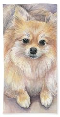 Puppy Paintings Bath Towels