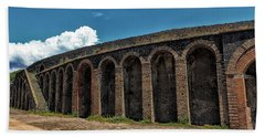 Pompeii Amphitheater Bath Towel