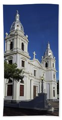 Ponce Cathedral Hand Towel