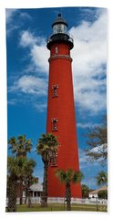 Ponce Inlet Lighthouse Hand Towel