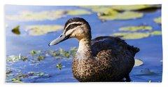 Pond Duck Hand Towel