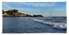 Poneloya Beach Before Sunset Hand Towel