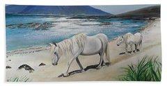 Ponies Of Muck- Painting Bath Towel