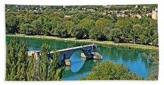 Pont Saint-benezet Bath Towel