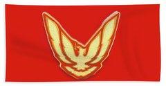 Pontiac Firebird Emblem Bath Towel