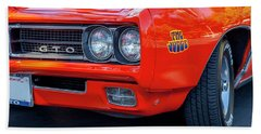 Pontiac G T O Judge 1969 Convertible Bath Towel