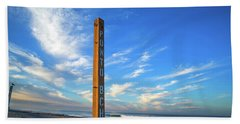Ponto Beach Bath Towel by Joseph S Giacalone
