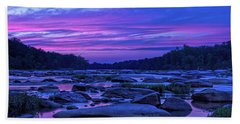 Pony Pasture Sunset Bath Towel