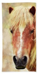 Pony Portrait Bath Towel