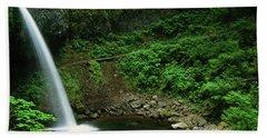 Ponytail Falls-h Bath Towel
