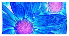 Pop Art Daisies 6 Hand Towel