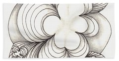 Popcloud Blossom Bath Towel by Jan Steinle