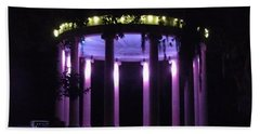 Popp Bandstand New Orleans City Park Hand Towel by Deborah Lacoste