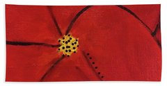 Poppy Dots Hand Towel