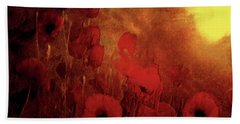 Poppy Heaven Hand Towel