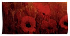 Poppy Heaven Bath Towel