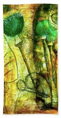 Poppy Pods Hand Towel