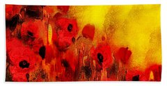Poppy Reverie Hand Towel