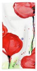 Poppyred Hand Towel