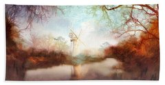 Porcelain Skies Bath Towel