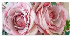 Porch Roses Hand Towel