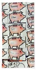 Bath Towel featuring the photograph Porkys Place by Joe Jake Pratt