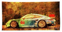 Porsche 911 Race Car Bath Towel