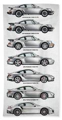 Porsche 911 Turbo Evolution Bath Towel