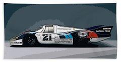 Porsche 917 Longtail 1971 Bath Towel