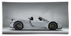Porsche 918 Spyder Bath Towel