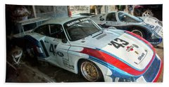 Porsche 935 Moby Dick Bath Towel