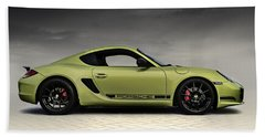 Porsche Cayman R Bath Towel