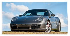 Porsche Cayman Bath Towel