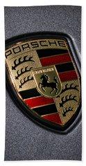 Porsche Hand Towel by Gordon Dean II