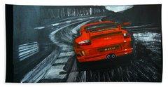 Porsche Gt3 Le Mans Hand Towel