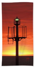 Port Hughes Lookout Hand Towel