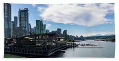 Port Of Vancouver Hand Towel