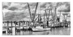 Port Royal Docks Hand Towel by Scott Hansen