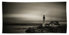 Portland Head Light 3 Bath Towel