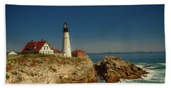 Portland Head Lighthouse 2 Bath Towel