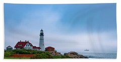 Portland Head Lighthouse Hand Towel