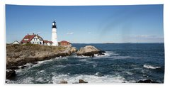 Portland Head Lighthouse Maine Bath Towel