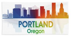 Portland Or Hand Towel