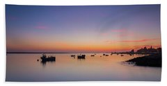 Bath Towel featuring the photograph Porto Sunset by Bruno Rosa