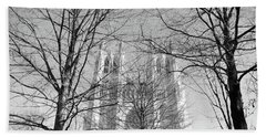 Bath Towel featuring the photograph Portrait Of A Cathedral by John S