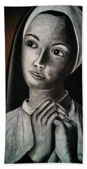 Portrait Of A Nun Bath Towel