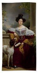 Portrait Of Alida Christina Assink, 1833 Bath Towel
